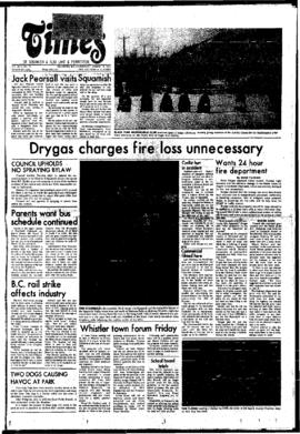 Squamish Times: Thursday, March 18, 1976