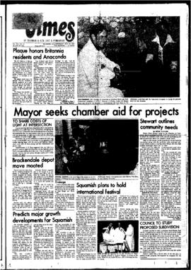 Squamish Times: Thursday, May 20, 1976