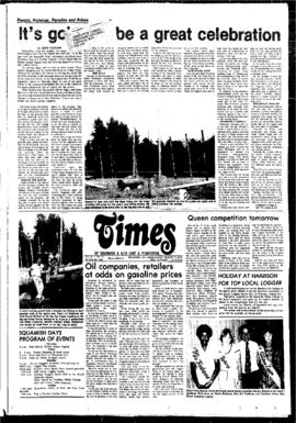 Squamish Times: Wednesday, August 3, 1977