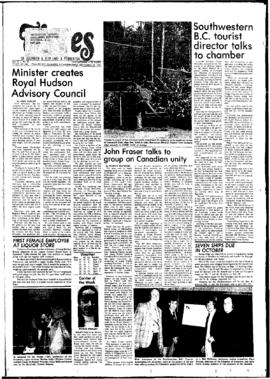 Squamish Times: Wednesday, September 28, 1977