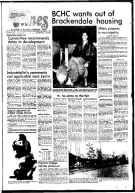 Squamish Times: Wednesday, September 7, 1977