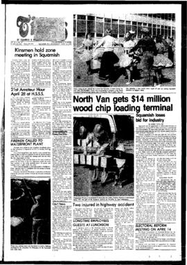 Squamish Times: Wednesday, April 12, 1978