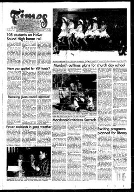 Squamish Times: Wednesday, March 22, 1978