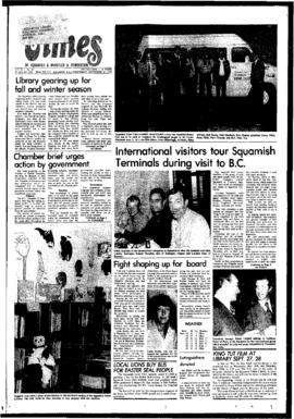 Squamish Times: Wednesday, September 27, 1978