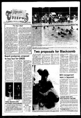 Squamish Times: Wednesday, September 6, 1978
