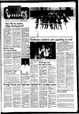 Squamish Times: Tuesday, March 18, 1980