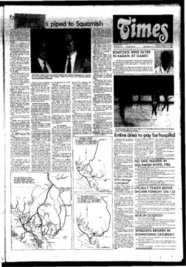 Squamish Times: Tuesday, March 11, 1980