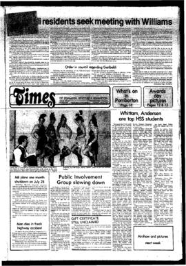 Squamish Times: Tuesday, June 3, 1980