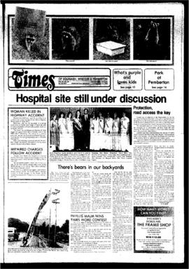 Squamish Times: Tuesday, July 22, 1980