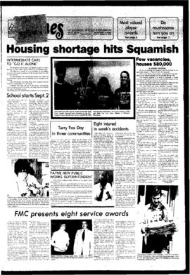 Squamish Times: Tuesday, August 26, 1980