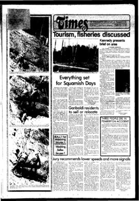 Squamish Times: Tuesday, July 29, 1980
