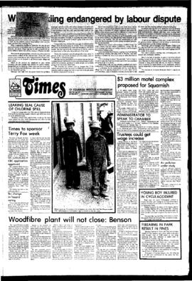 Squamish Times: Tuesday, September 9, 1980