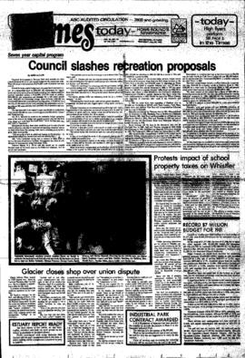 Squamish Times: Wednesday, May 20, 1981