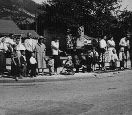 Spectators at May Day 1960 parade