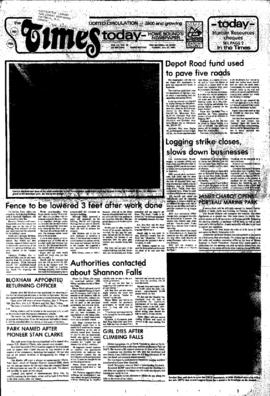 Squamish Times: Tuesday, July 21, 1981