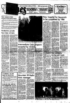 Squamish Times: Tuesday, June 30, 1981