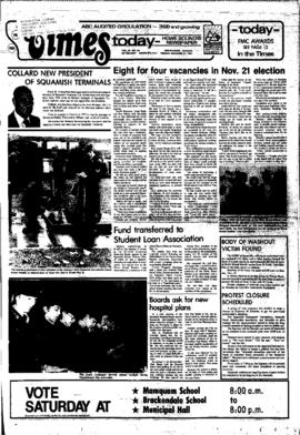 Squamish Times: Tuesday, November 17, 1981