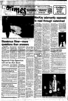 Squamish Times: Tuesday, February 2, 1982