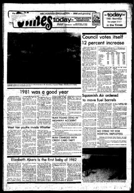 Squamish Times: Wednesday, January 6, 1982