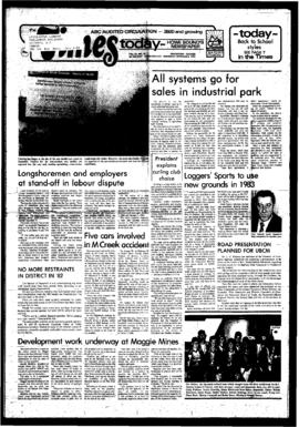 Squamish Times: Wednesday, September 8, 1982