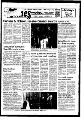 Squamish Times: Tuesday, December 7, 1982
