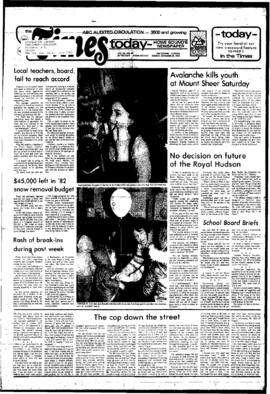 Squamish Times: Tuesday, November 30, 1982