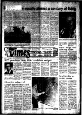 Squamish Times: Tuesday, March 1, 1983