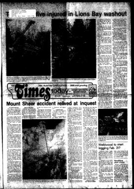 Squamish Times: Tuesday, February 15, 1983