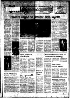 Squamish Times: Tuesday, February 8, 1983