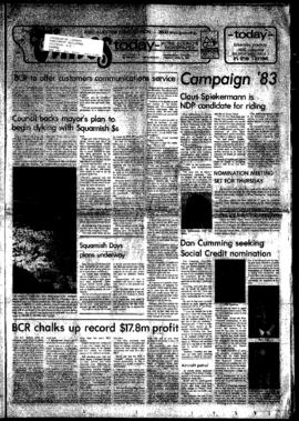 Squamish Times: Tuesday, April 12, 1983