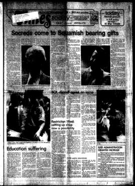 Squamish Times: Tuesday, March 15, 1983