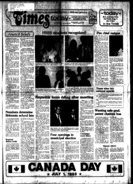 Squamish Times: Tuesday, June 21, 1983