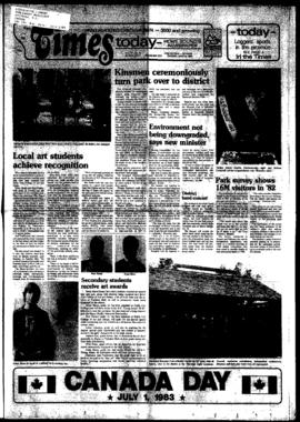 Squamish Times: Tuesday, June 14, 1983