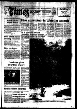 Squamish Times: Thursday, June 2, 1983