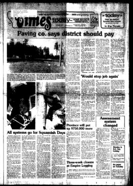 Squamish Times: Tuesday, July 26, 1983