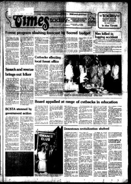Squamish Times: Tuesday, July 19, 1983