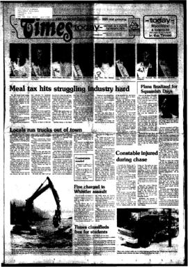 Squamish Times: Tuesday, July 12, 1983