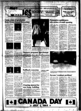 Squamish Times: Tuesday, June 28, 1983