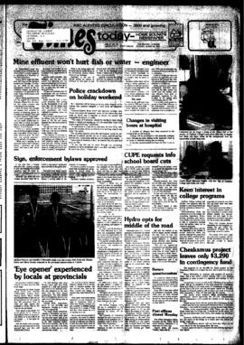 Squamish Times: Tuesday, August 30, 1983