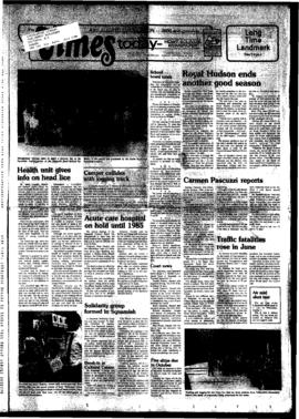Squamish Times: Tuesday, September 20, 1983