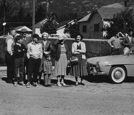 1960 May Day Parade spectators