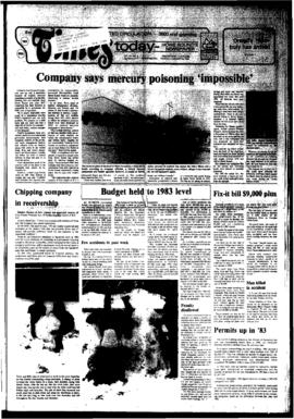 Squamish Times: Tuesday, January 24, 1984