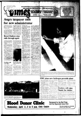 Squamish Times: Tuesday, April 10, 1984