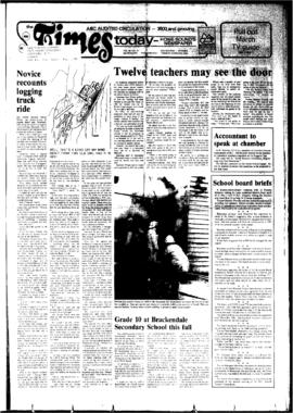Squamish Times: Tuesday, March 20, 1984