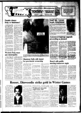 Squamish Times: Tuesday, March 13, 1984