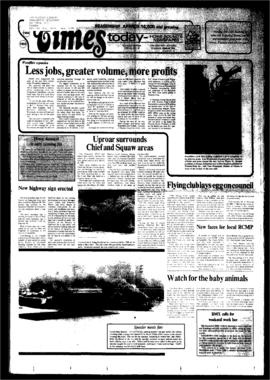 Squamish Times: Tuesday, June 5, 1984
