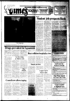 Squamish Times: Wednesday, May 23, 1984