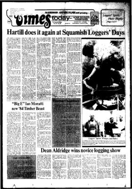 Squamish Times: Wednesday, August 8, 1984