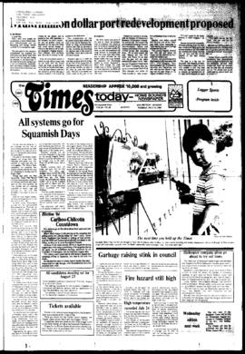 Squamish Times: Tuesday, July 31, 1984