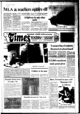 Squamish Times: Tuesday, September 18, 1984